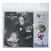 2012 £5 Coin Pack Celebration Of Britain Chruchill